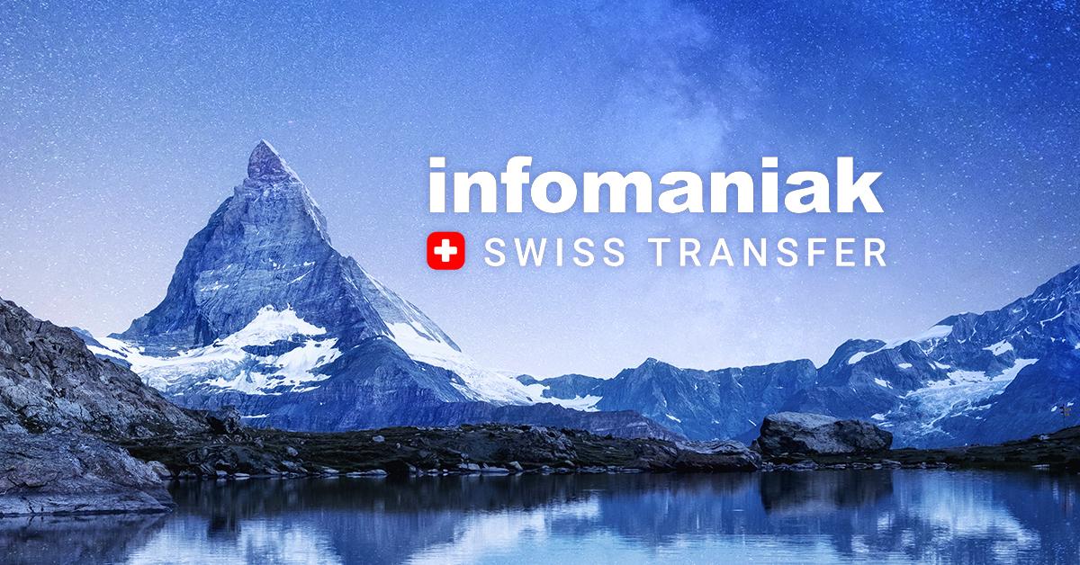 Swisstransfer Transférer des Fichiers Volumineux
